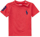 Ralph Lauren Boy Big Pony Cotton Jersey Tee