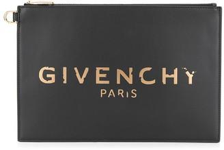 Givenchy Logo Detail Clutch Bag