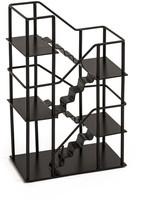 Design Ideas Black Stairway Shelf