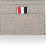 Thom Browne Men's Note-Compartment Card Case-GREY