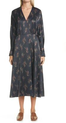Vince Wisteria Dolman Sleeve Dress