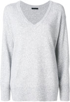 The Row V-neck sweater - women - Silk/Cashmere - XS