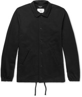 Reigning Champ Coach's Loopback Stretch-Cotton Jersey Jacket