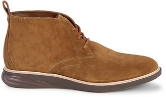 Cole Haan Grand Evolution Suede Chukkas