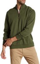 Tommy Bahama Flip Side Twill Half Zip Reversible Pullover
