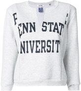 RE/DONE Penn State sweatshirt - women - Cotton/Polyester - I