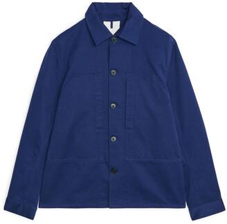 Arket Moleskin Workwear Overshirt
