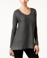 Thalia Sodi Asymmetrical Tunic Sweater, Only at Macy's