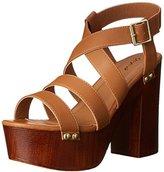 Qupid Women's Elma 04A Platform Sandal