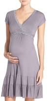 Belabumbum Women's Ruffle Nursing Dress