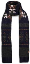Bickley and Mitchell Fair Isle Scarf