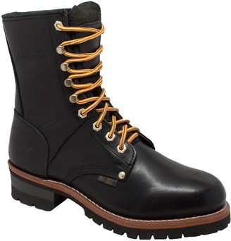 AdTec Ad Tec Supper Logger Boots (Black Numeric_9_Point_5)