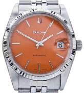 Bulova Stainless Steel Vintage Automatic 36mm Mens Watch