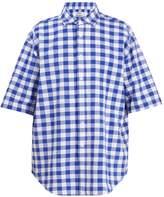 Acne Studios Albany short-sleeve check shirt