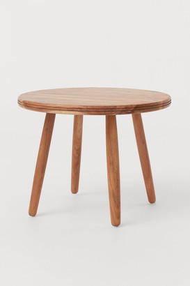 H&M Round wooden coffee table