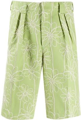 Jacquemus Le short de costume knee-length pleated shorts