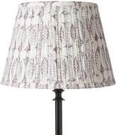 OKA 30cm Pleated Daun Cotton Lampshade