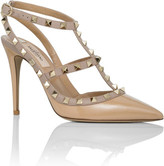 Valentino Nw1s0393 Vnw Patent Ankle Strap 100 Rockstud