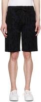 Kenzo Navy & Black Cactus Print Shorts