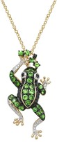 Effy Jewelry Jardin Critters Tsavorite Frog Pendant, 1.13 TCW