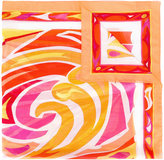 Emilio Pucci Pareo scarf - women - Cotton - One Size