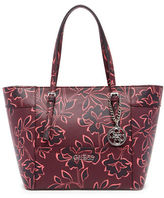 GUESS Delaney Small Floral Printed Tote