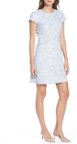 Eliza J Sheath Tweed Sheath Dress