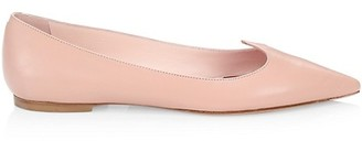 Roger Vivier I Love Vivier Leather Flats