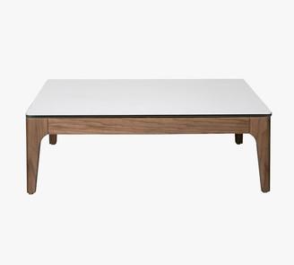 """Pottery Barn La Mesa 35.5"""" Square Coffee Table"""