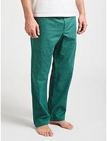 John Lewis Jazzy Print Lounge Pants, Green