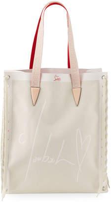 Christian Louboutin Cabalace Small Canvas Xian Tote Bag