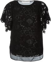 See by Chloe guipure lace blouse - women - Cotton - 36
