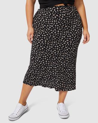 Sunday In The City Despacito Midi Skirt