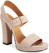 Calvin Klein Women's Bette Platform Dress Sandals