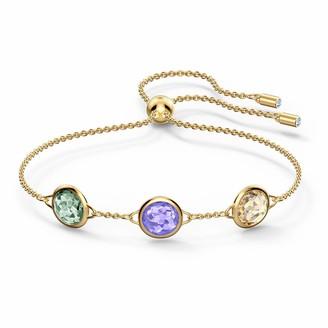 Swarovski Tahlia Bracelet Multicolored Gold-tone plated