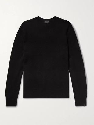 Rag & Bone Haldon Cashmere Sweater - Men - Black