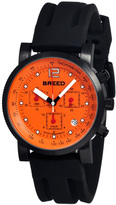 Breed Black & Orange Manning Chronograph Swiss Watch