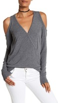 Bailey 44 Big Hit Long Cold Shoulder Sweater