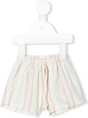 Knot Rhythm striped shorts