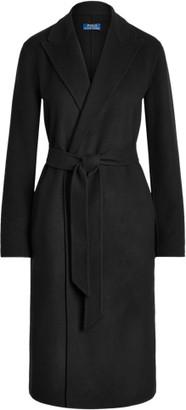 Ralph Lauren Wool-Blend Belted Coat