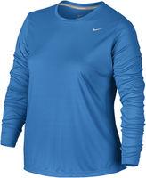 Nike Long-Sleeve Miler Tee - Plus