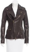 McQ by Alexander McQueen Leather Moto Jacket w/ Tags