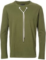 Craig Green drawstring long sleeved T-shirt - men - Cotton - S