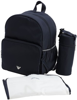 Emporio Armani Logo Nylon Backpack