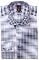 Robert Talbott Trim Fit Windowpane Dress Shirt