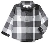 Burberry 'Mini Camber' Check Woven Shirt (Baby Boys)
