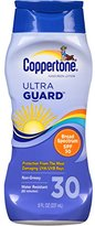 Coppertone UltraGuard Sunscreen Lotion SPF 30 8 oz