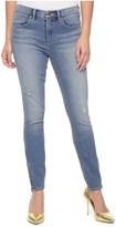 Juicy Couture Knitdigo Skinny Jean With Leg Zippers
