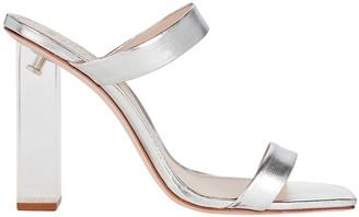 Schutz Saira Metallic Sandals