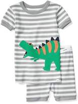 Dino stripe short sleep set